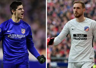 Oblak smashes Courtois' numbers after 154 Atleti games