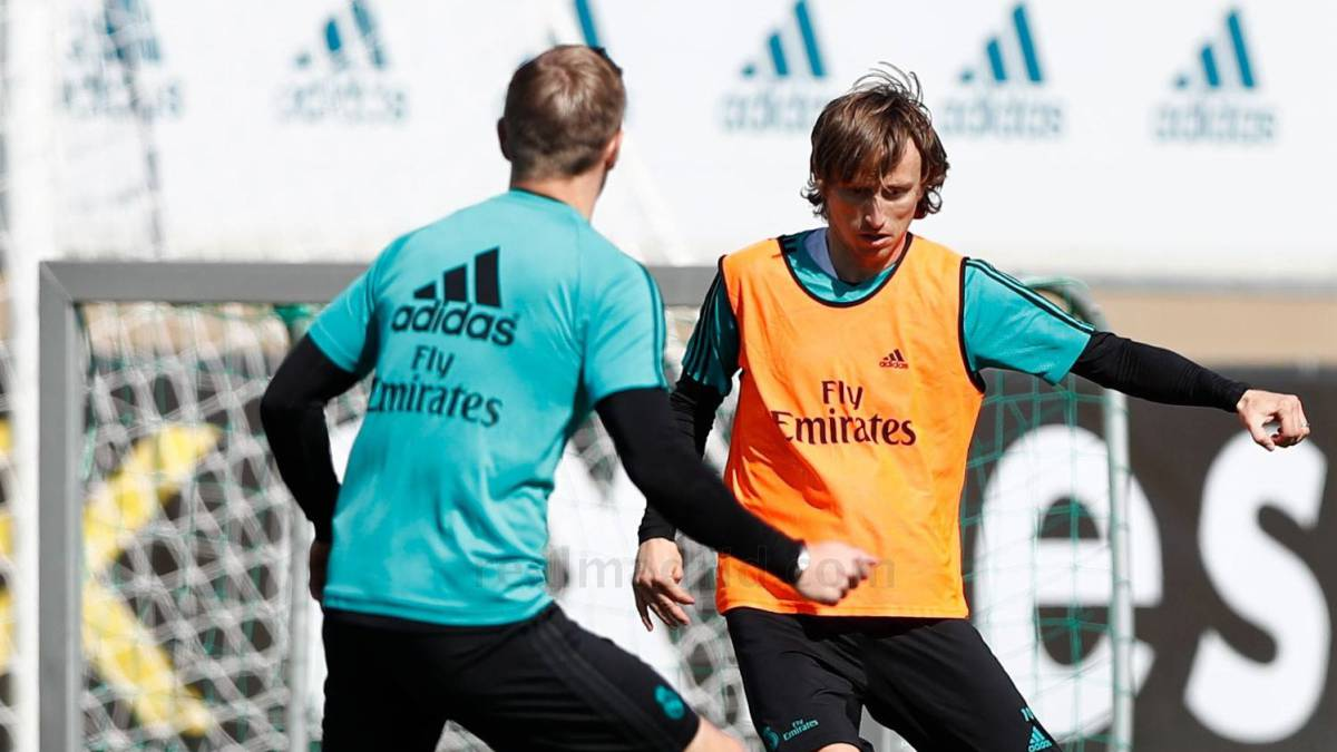 Modric returns for Athletic game, Nacho back in training