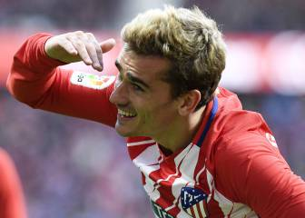 Griezmann on target for most productive Atlético season