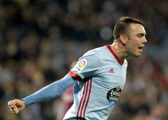 Iago Aspas smashes 60-year old glass ceiling at Celta