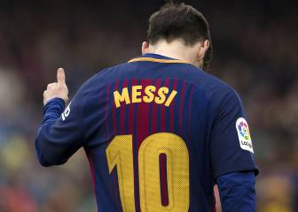 Messi closing on Copa del Rey goals of Puskas and Kubala