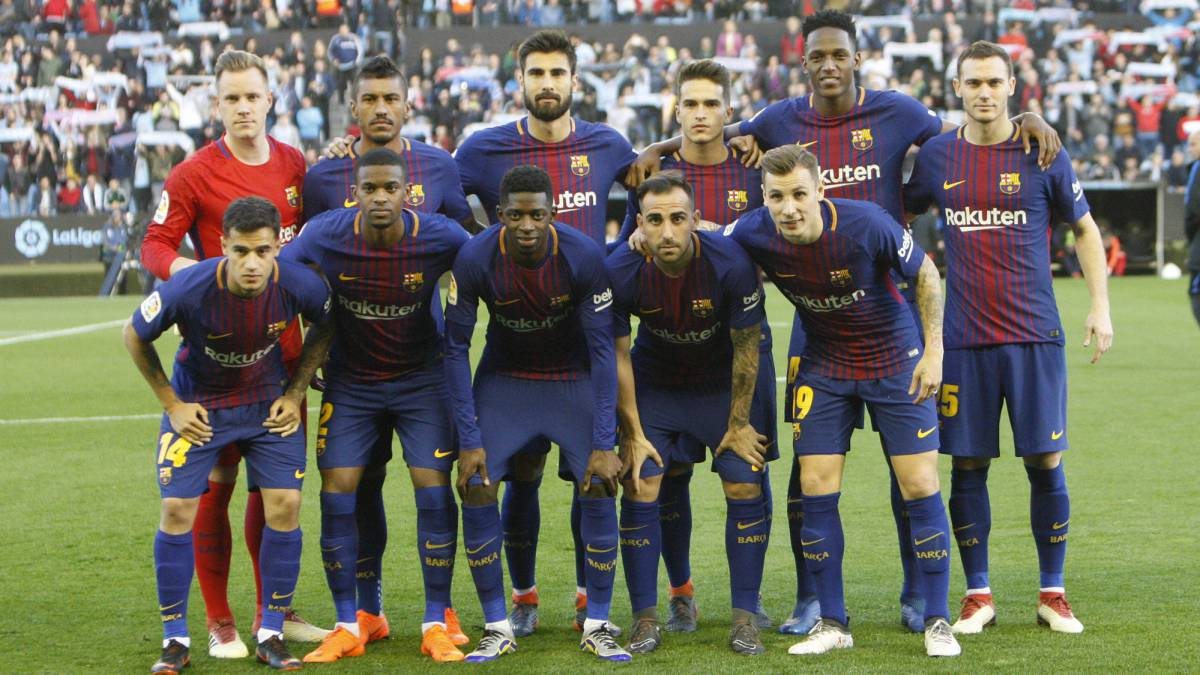 Barcelona field first team with no youth products for 16 years