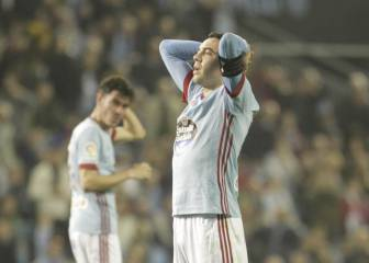 Iago Aspas facing two to three weeks on the sidelines