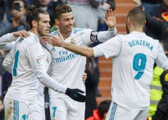 Is the Bale, Benzema, Cristiano trident a thing of the past?