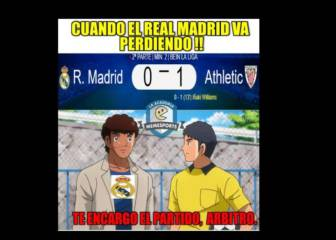 Los memes del Real Madrid-Athletic