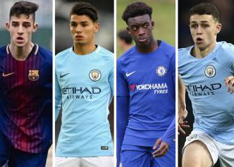Eight stars to watch from the final four of Uefa's Youth League