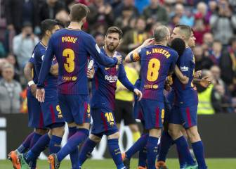 Barça are 1 win away from being crowned LaLiga champions