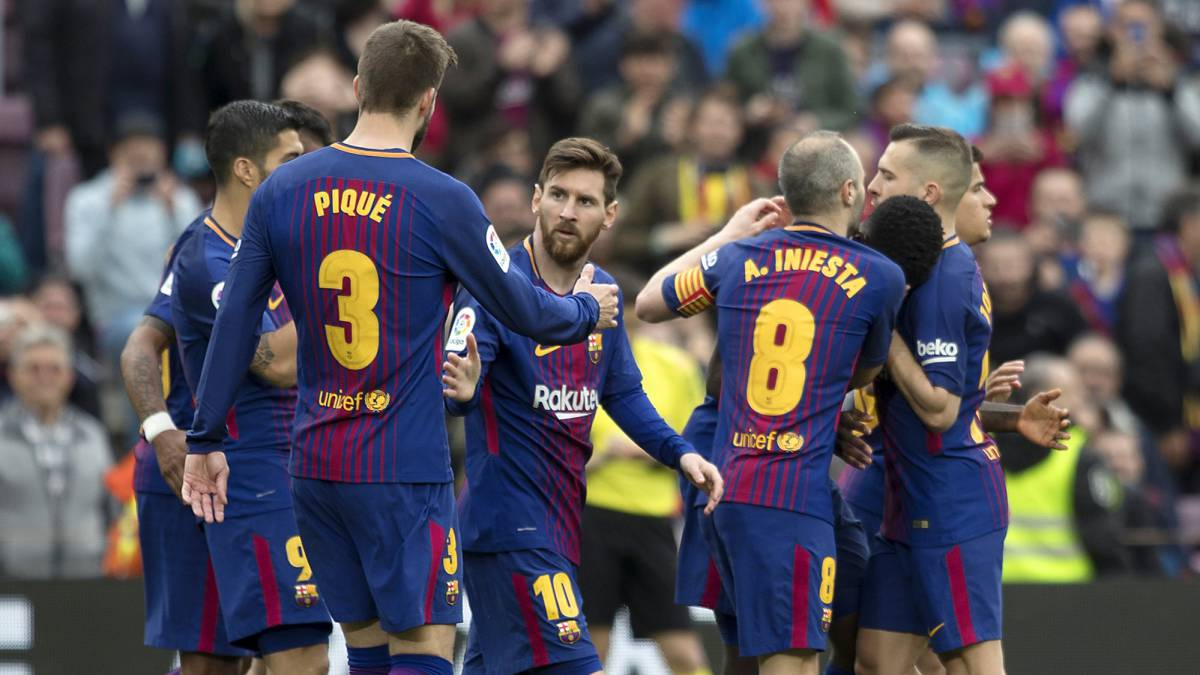 Barcelona are one win away from being crowned league champions