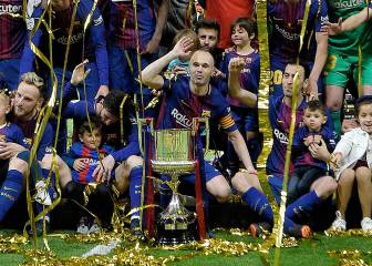 We'll miss you Iniesta