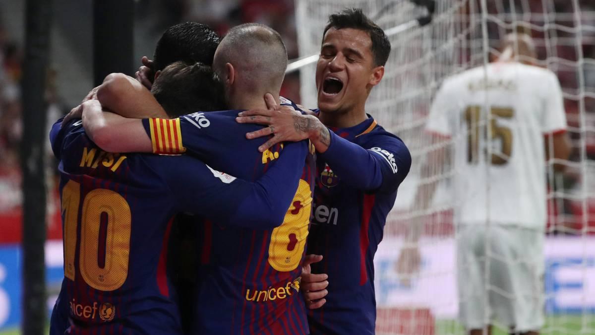 c3895147b53 Final Copa del Rey 2018 Sevilla vs Barcelona directo