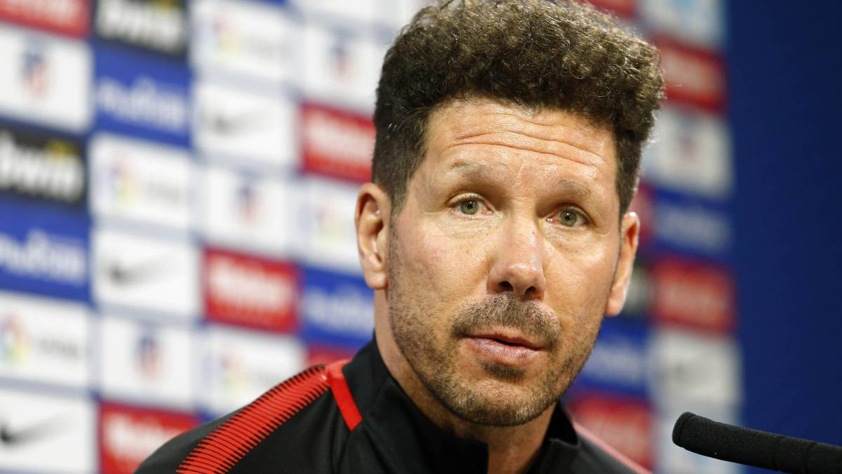 "Simeone: ""We're privileged to be second; we have to make sure we stay there"""