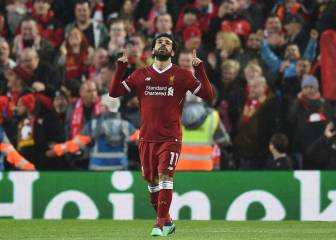 Salah becomes top African goalscorer in Champions League season