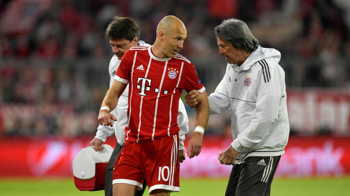 Robben and Boateng injured, doubts for second leg