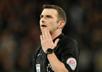 Michael Oliver breaks silence over Real Madrid penalty abuse