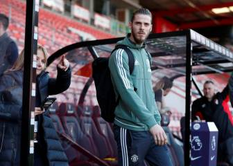 De Gea closes in on Premier League 'Golden Glove'