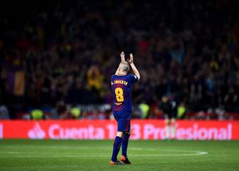 Iniesta, says goodbye: