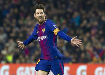 Messi overtakes Salah in the race for Golden Shoe