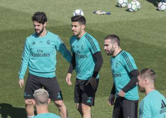 Problems for Zidane: Isco and Carvajal to miss Bayern game