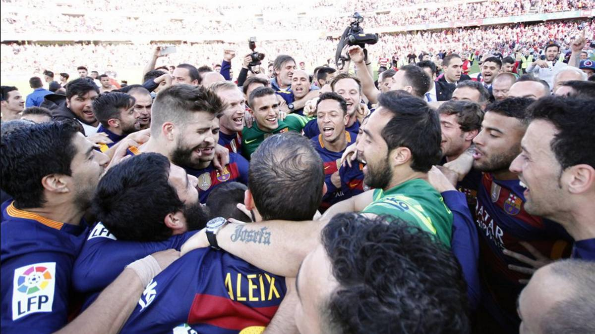 Barça: title-winners on 10 occasions away from home