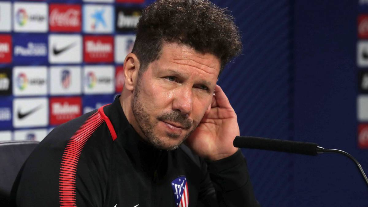 "Simeone: ""I'm not particularly impressed with myself over the sending-off"""