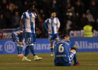 Deportivo relegated from LaLiga for third time in seven years