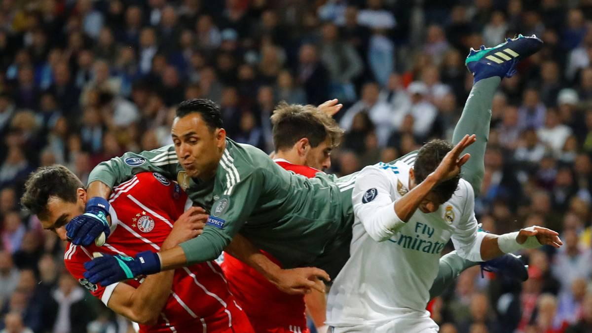 Real Madrid 2-2 Bayern  resumen db2aaf2fa1ea4
