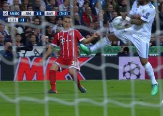 Bayern denied two penalties at the Bernabéu