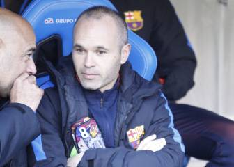 The injury that encouraged Iniesta to leave Barça