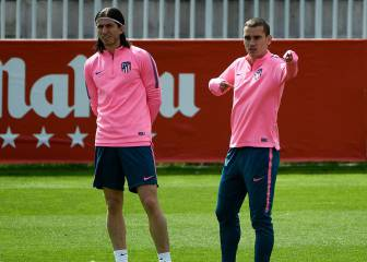 Filipe Luis returns to Atlético squad for Arsenal game