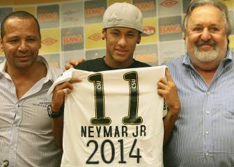 Deceased Santos president left posthumous letter criticising Neymar and his father