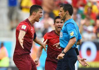 Mazic, the referee who left Ronaldo raging