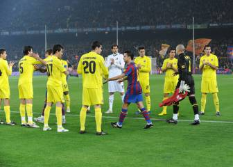 Villarreal will give Barcelona 'belated' guard of honour