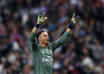 Keylor es indestructible