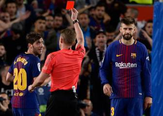 Sergi Roberto banned for four games after Clásico red