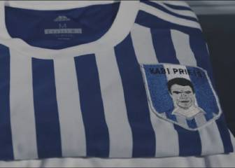 Why La Real will replace their badge with Xabi Prieto's face