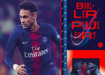 Neymar chosen to model PSG's new 2018/18 kit