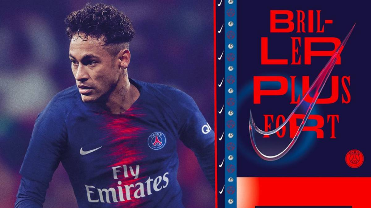 Neymar chosen to model PSG's new 2018/19 kit