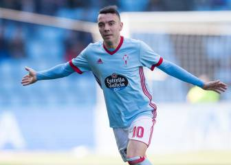 Iago Aspas fit to face Real Madrid in the Bernabéu