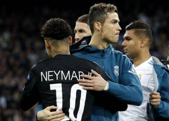 Real Madrid squad make their feelings about Neymar clear