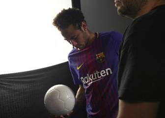 Neymar also got Barça's hopes up before his PSG move