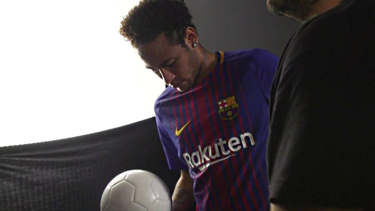Neymar also got Barça's hopes up before making PSG move