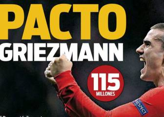 Sport: Griezmann deal done as Barcelona and Atlético agree fee