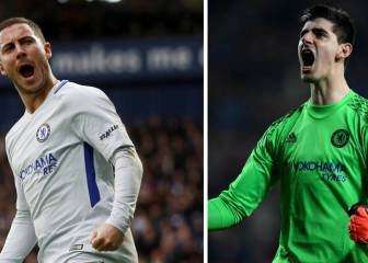 Chelsea's poor season pushes Courtois and Hazard closer to Real Madrid