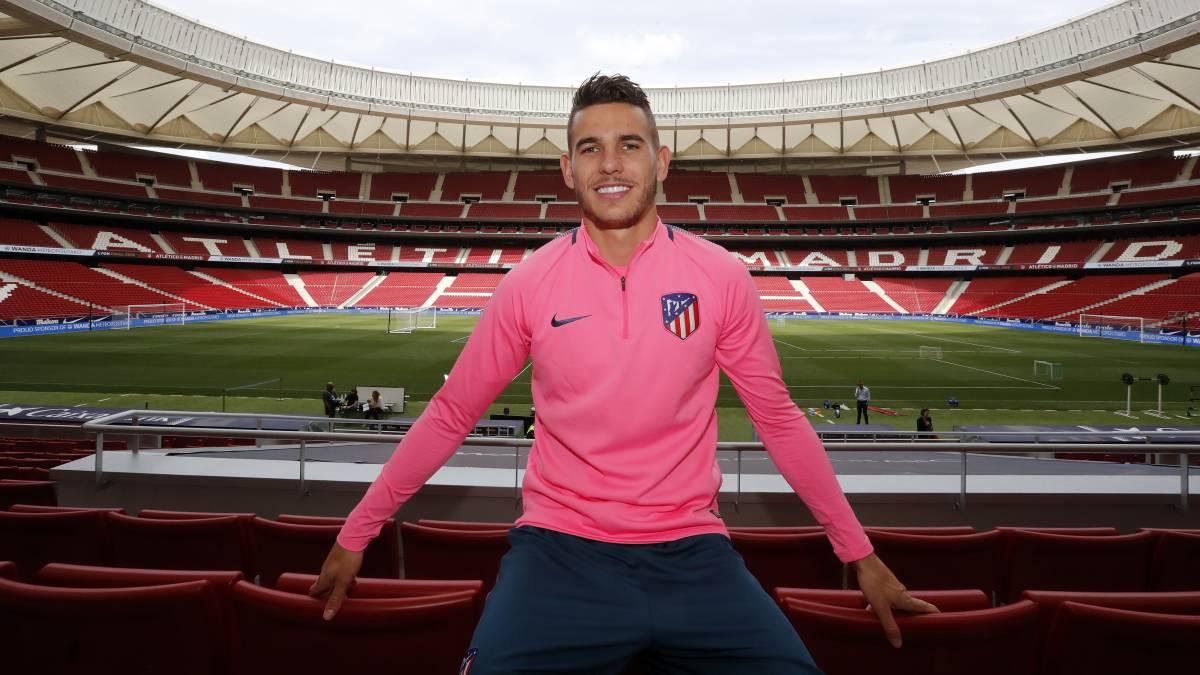 """Atlético de Madrid   Lucas: """"Jugar contra el Marsella es especial ..."""