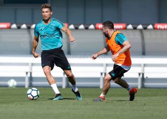 Cristiano Ronaldo and Carvajal return to full training