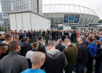 Kiev locals mobilise to help Real Madrid and Liverpool fans