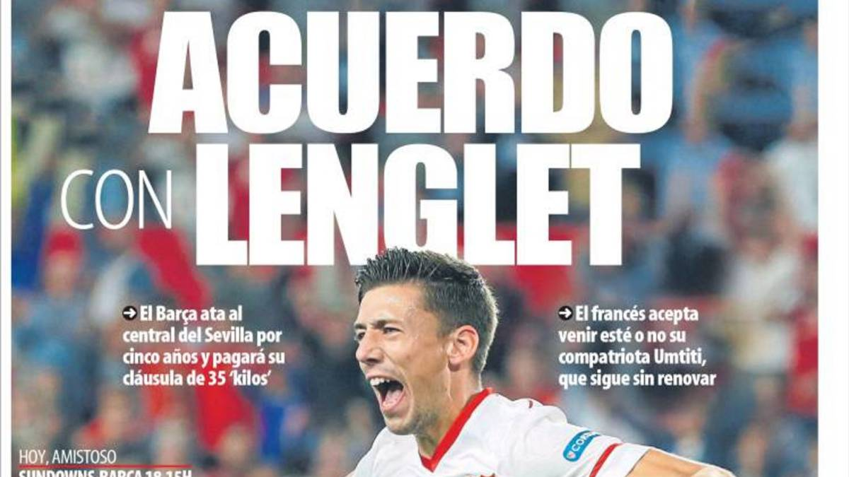 Barcelona sign Sevilla defender Clément Lenglet - MD