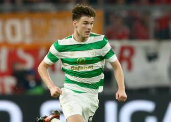 Atlético mulling a move for Celtic left back Kieran Tierney