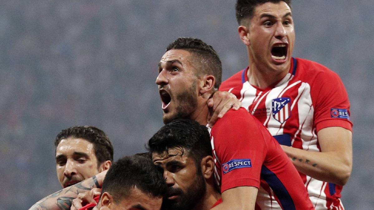 Third Europa League for Atlético Madrid