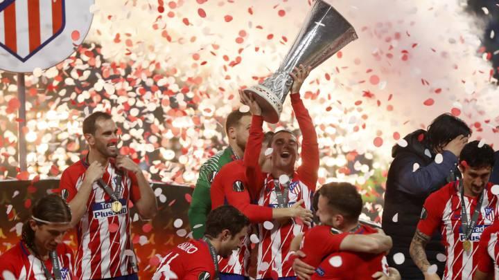 Tercera Europa League del Atletico: así queda el palmarés